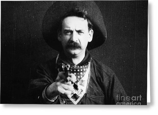Great Train Robbery 1903 Greeting Card by Granger
