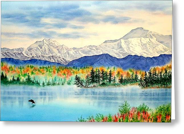 Great View Greeting Card by John YATO