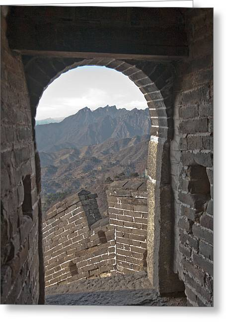 Great Wall View Greeting Card
