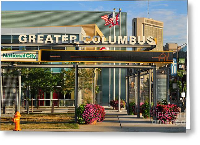 D8l-245 Greater Columbus Convention Center Photo Greeting Card