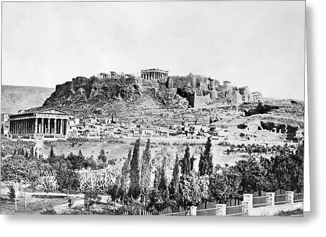 Greece Acropolis Greeting Card