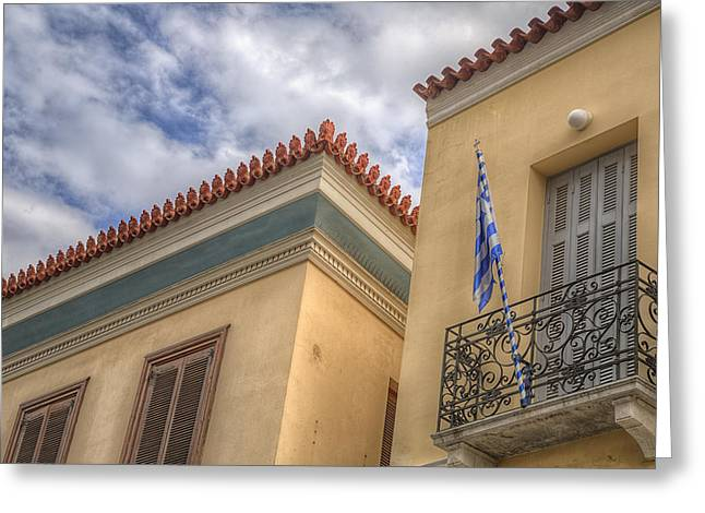 Greeting Card featuring the photograph Greece by Micah Goff