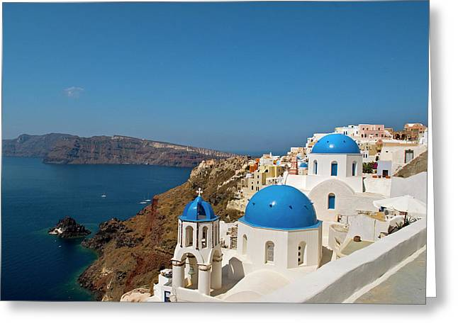 Greece, Santorini Greeting Card