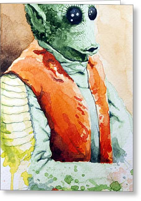 Greedo Greeting Card