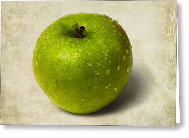 Green Apple - 2 Greeting Card