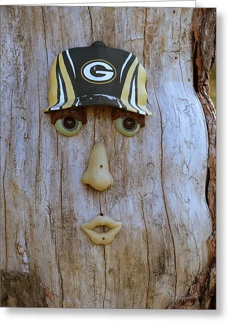 Green Bay Packer Humor Greeting Card