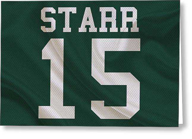 Green Bay Packers Bart Starr Greeting Card