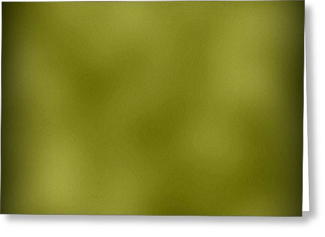 Green Leather Texture Background Greeting Card by Valentino Visentini