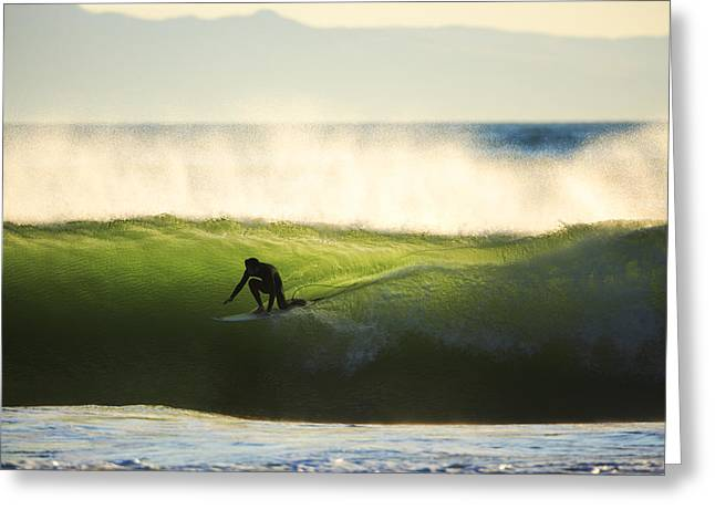 Greeting Card featuring the photograph Green Monster C6j9362 by David Orias