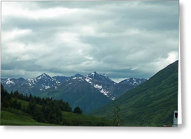 Green Pastures And Mountain Views Greeting Card by Aimee L Maher Photography and Art Visit ALMGallerydotcom