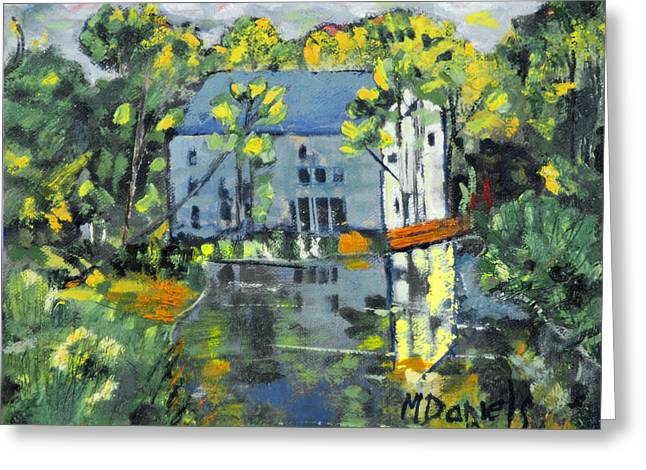 Green Township Mill House Greeting Card by Michael Daniels