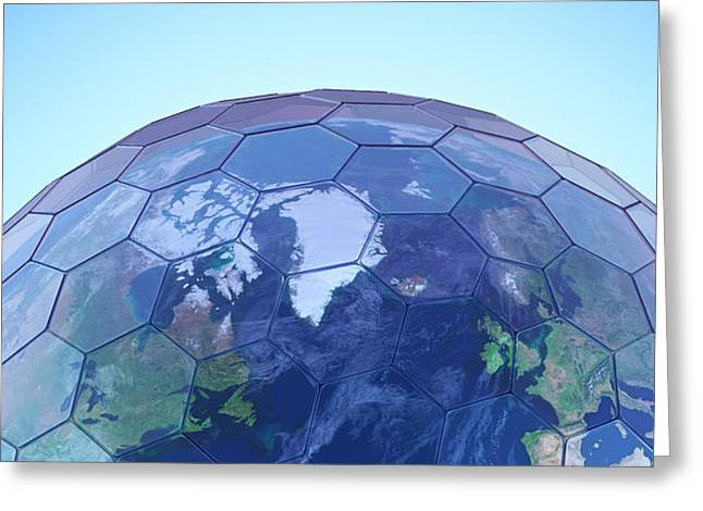 Greenhouse Effect Greeting Card