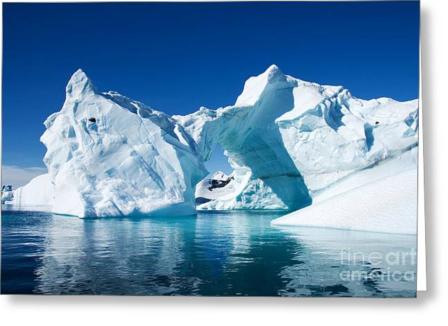 Greenland Iceberg Greeting Card by Boon Mee