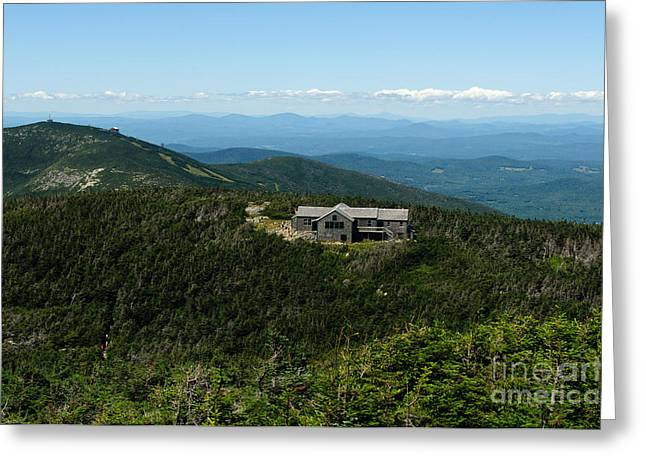 Greenleaf Hut Greeting Card