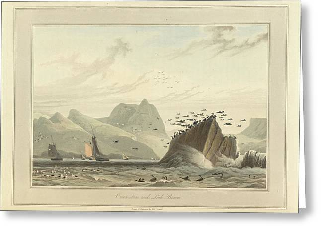 Greenstone Rock Greeting Card by British Library