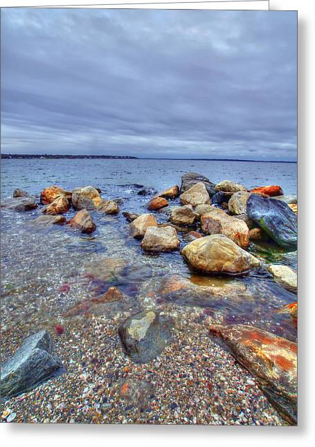 Greeting Card featuring the photograph Greenwich Bay by Alex Grichenko