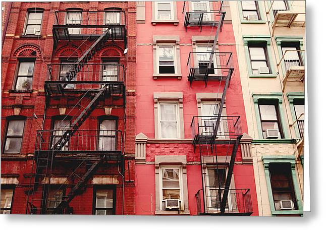 Greeting Card featuring the photograph Greenwich Village  by Kim Fearheiley