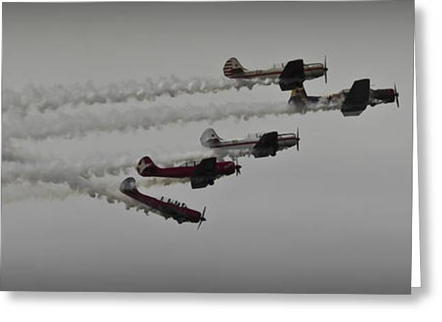 Greenwood Lake Airshow Northeast Raiders Greeting Card