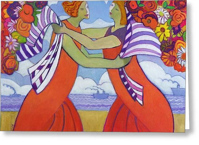Greetings, 2003-04 Greeting Card by Jeanette Lassen