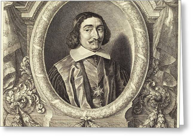 Grégoire Huret French, 1606 - 1670, Chancellor Pierre Greeting Card by Quint Lox