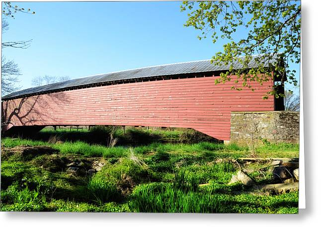 Griesemer's Covered Bridge Berks County Greeting Card