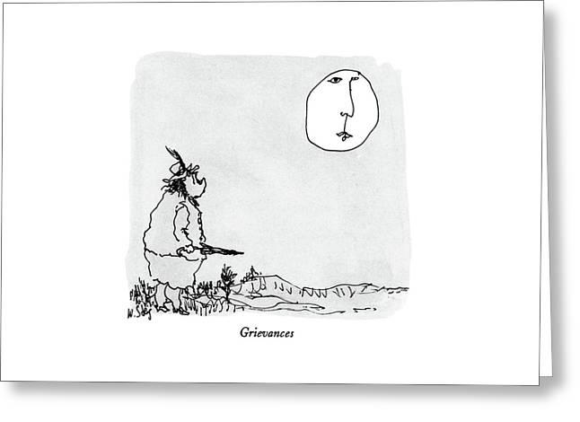 Grievances Greeting Card