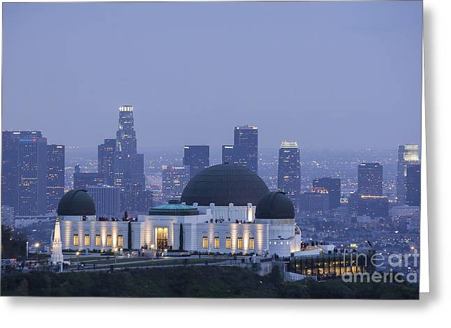 Griffith Observatory Los Angeles Greeting Card