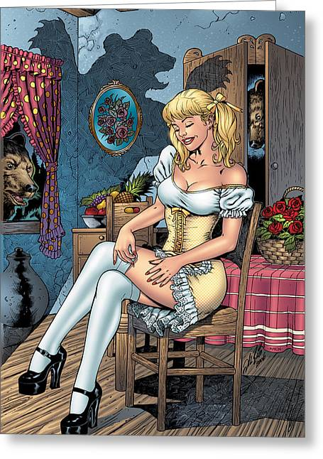 Grimm Fairy Tales 09 Greeting Card by Zenescope Entertainment