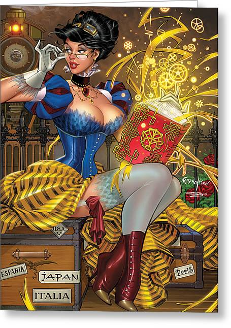 Grimm Fairy Tales 59  Greeting Card by Zenescope Entertainment