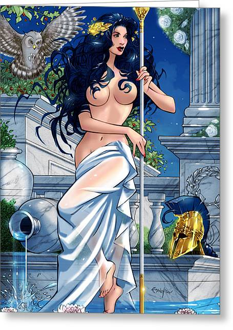 Grimm Fairy Tales Godstorm 01e Greeting Card by Zenescope Entertainment
