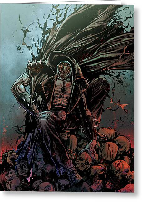 Grimm Fairy Tales Presents Sleepy Hollow 01b Greeting Card by Zenescope Entertainment