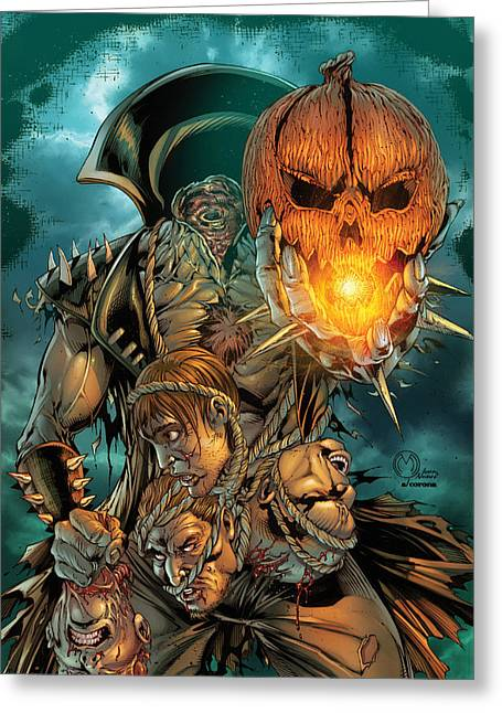 Grimm Fairy Tales Presents Sleepy Hollow 02a Greeting Card by Zenescope Entertainment