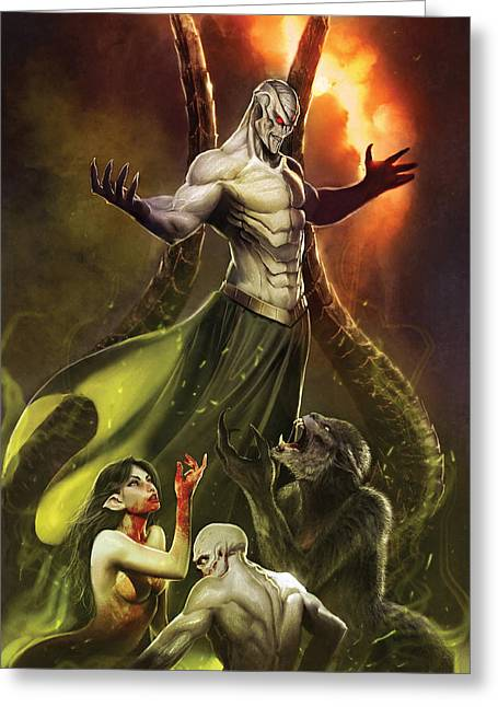 Grimm Fairy Tales Unleashed Demons 01c Greeting Card by Zenescope Entertainment