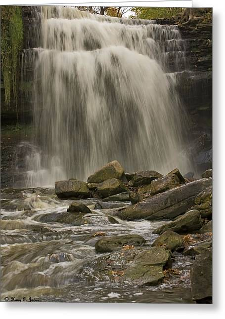 Grindstone Falls Greeting Card