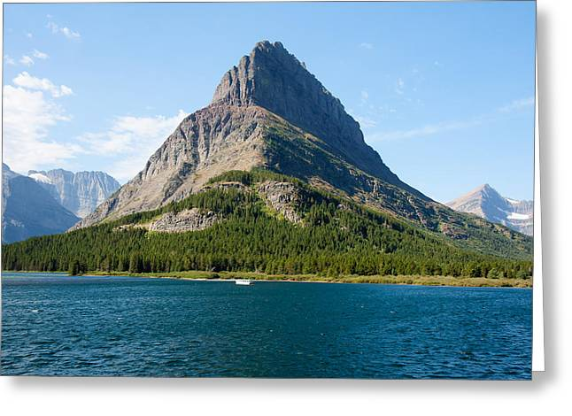 Grinnell Point Greeting Card by John M Bailey