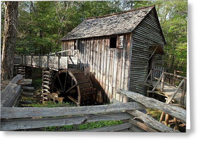 Grist Mill Greeting Card by Jim West