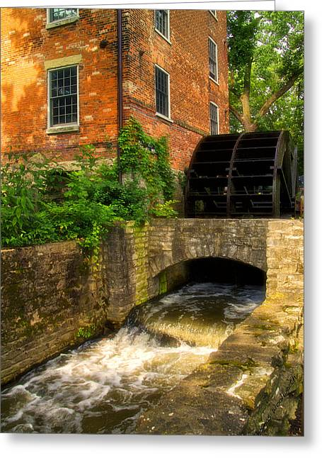 Grist Mill Greeting Card by Thomas Woolworth