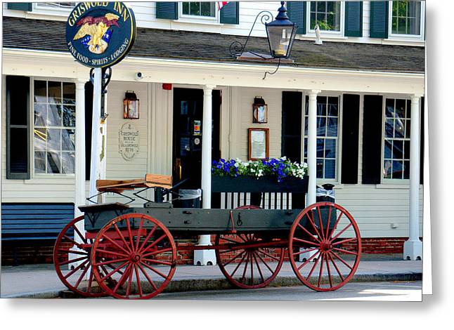 Griswold Inn And Tavern Greeting Card