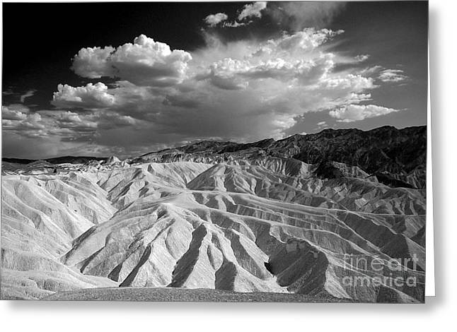 Grooving In Death Valley Greeting Card