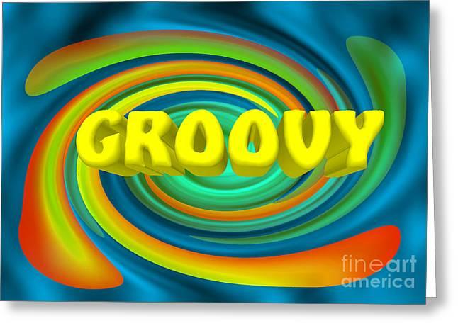 Groovy  Greeting Card