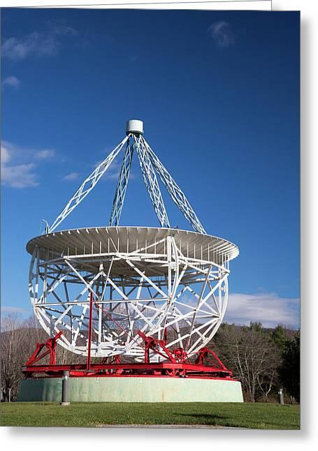 Grote Reber's Radio Telescope Greeting Card