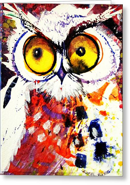 Groucho Owl Greeting Card