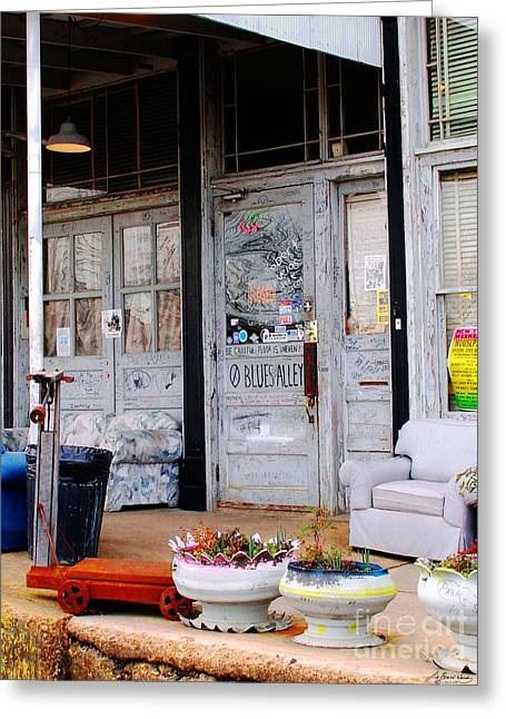 Ground Zero Clarksdale Mississippi Greeting Card