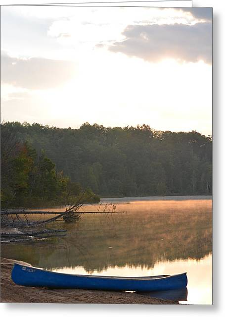 Grousehaven Lake - Rifle River State Park Greeting Card by Jennifer  King