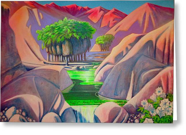 Grove Greeting Card by Steven Holder