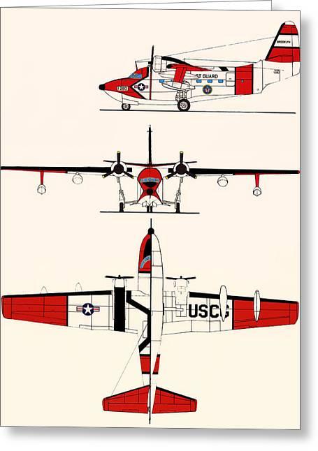 Grumman Hu-16e Albatross Greeting Card by Mountain Dreams