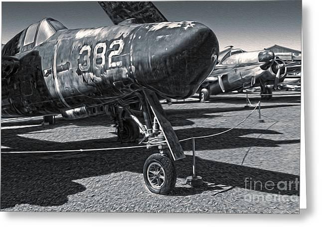 Grumman Tigercat F7f-3n  -  02 Greeting Card by Gregory Dyer
