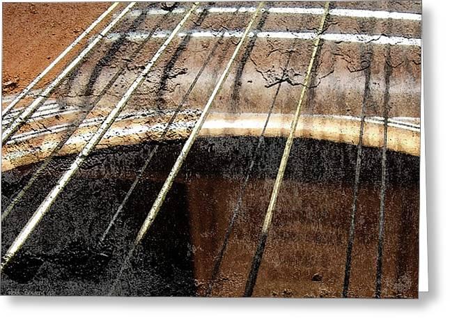 Grunge Guitar Greeting Card