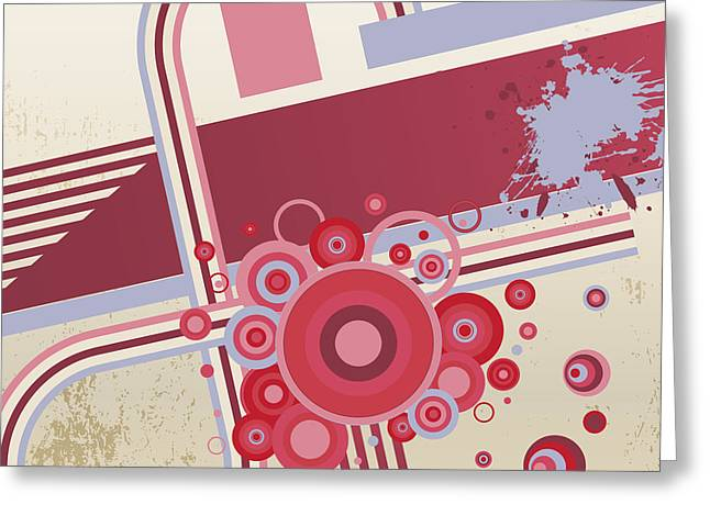 Grunge Vector Abstract  Background Greeting Card by Storoch