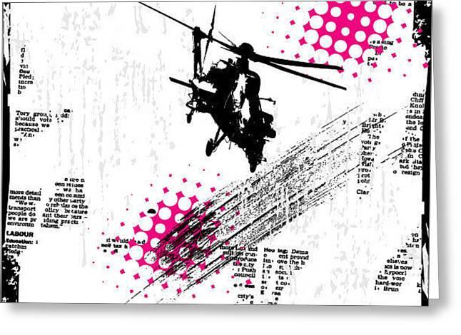 Grunge Vector Background Illustration Greeting Card